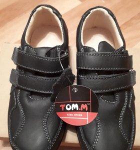 Туфли кожаные новые, размер 29