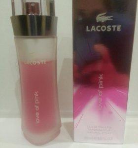 Туалетная вода Lacoste Love Of Pink