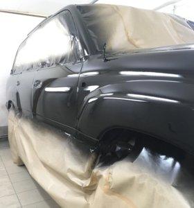 Покраска авто Полировка Жидкое стекло RAPTOR