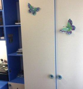 Продаю набор детской спальни (синий с беж)