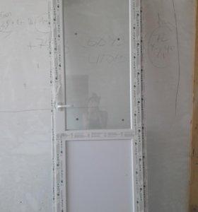 Дверь пвх 0,7х2,4 Лидер