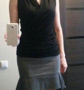 Комплект в офис: брюки, юбка и топ