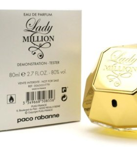 ТЕСТЕР Paco Rabanne Lady Million, 80 мл