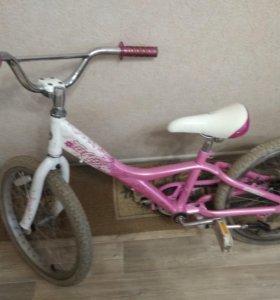 Велосипед детский для девочки!