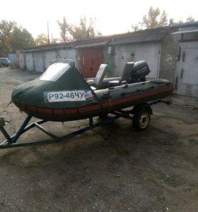 Лодка 380 мотор25
