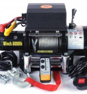 Автомобильная лебедка Electric Winch 6000 lb