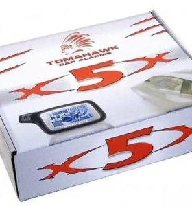 Сигнализация Tomahawk X5