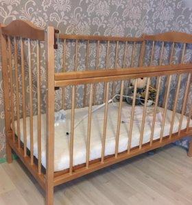 Кроватка, комплект зимний