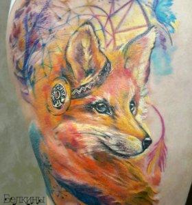 Художественная татуировка. Тату салон