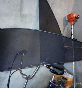 Передние шторки на ситроен С 4 на магнитах