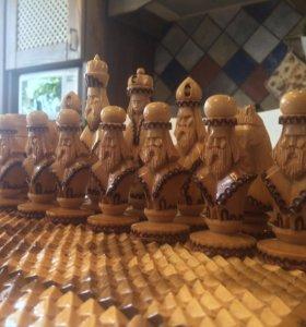 Шахматы - нарды - шашки 3 в 1