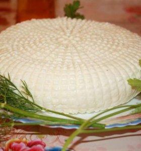 Домашний сыр брынза из козьего молока
