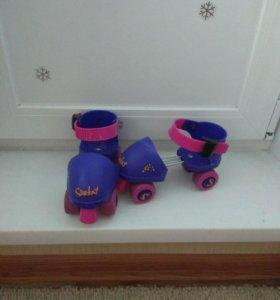 Ролики 4-колесные для малыша