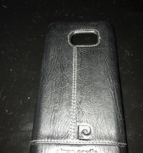 Чехол для Samsung galaxy s7 Pierre Cardin кожаный