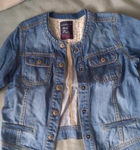 Куртка джинсовая рост 146 фирмы Reserved