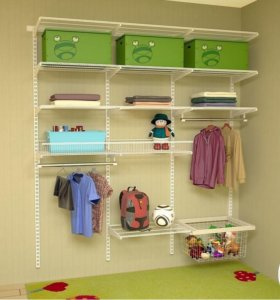 Система хранения вещей Вашего ребенка