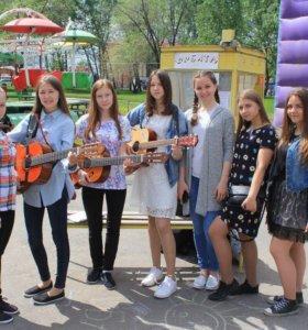 Гитара в летние каникулы для детей от 2,5 лет