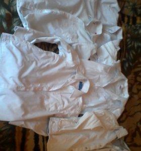 Рубашки на школу