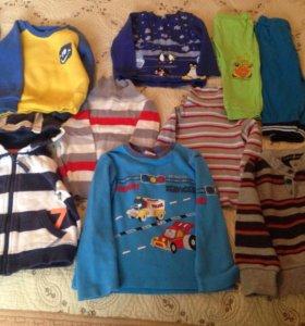 Детская одежда 86-92 см пакетом