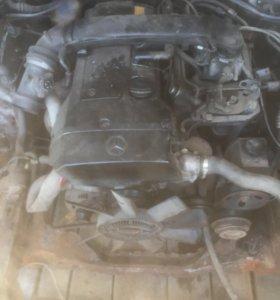 W210 двигатель e230 2,3 mersedes