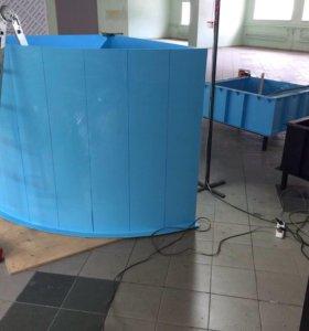 Изготовим из полипропилена купель,бассейн,емкость