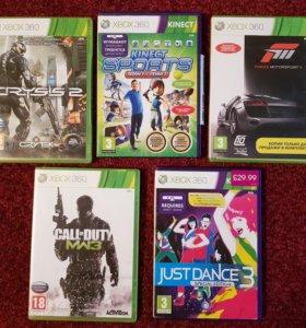 Диски игровые Xbox 360