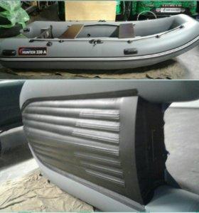 Лодки Хантер под заказ с подарками