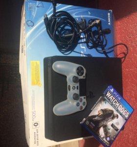 Sony PS4 Slim 500 GB коробка чек игры