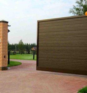 Откатные (сдвижные) въездные ворота 4200x2200 мм