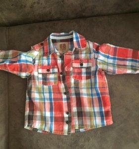 Рубашка на малыша как у папы