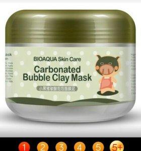 Кислородная маска с глиной bioaqua