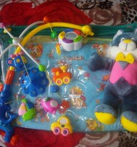 Детская кроватка в сборе(0-3 года)+ДОСТАВКА