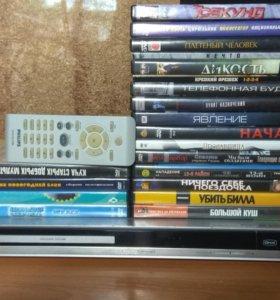 DVD-плеер Philips + набор дисков в подарок!