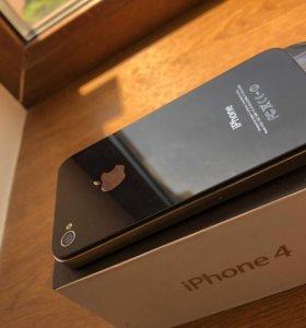 iPhone 4 16 gb black