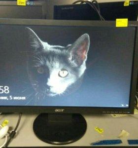 Монитор Acer19 широкоформатный