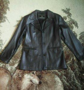 Кожаный пиджак натуральный