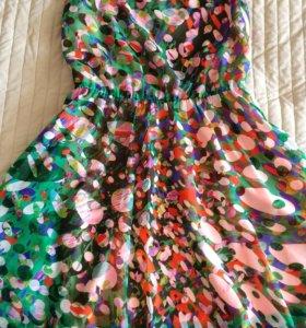 Яркое платье от Киры Пластининой (S)