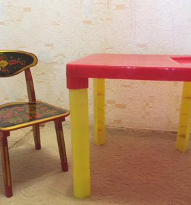Стол и стул (детские)