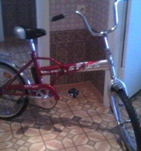 Велосипед складная рама