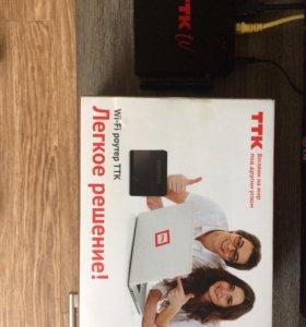 Роутер и IP tv в комплекте совсем новые