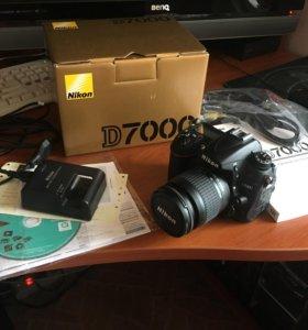 Nikon D7000 с объективом 28-80