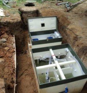 Септик канализация для дачи Ступино
