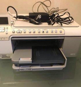 """Принтер/сканер/копир""""hp""""c5283 """"струйный Малайзия"""