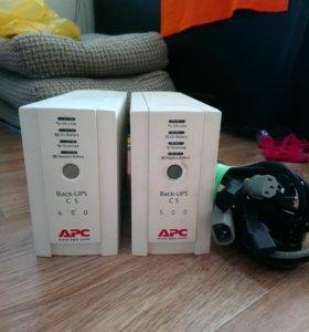 Ибп APC Back-Up CS 650VA/400W (4 x IEC)