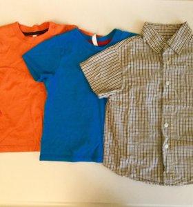 Рубашка и футболки 86-92