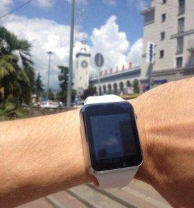 Умные часы Smart Watch W8 Новые. Цвет Белый