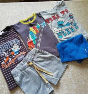 Футболки+шорты на мальчика PlayToday