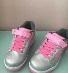 Heelys роликовые кроссовки 33 размер
