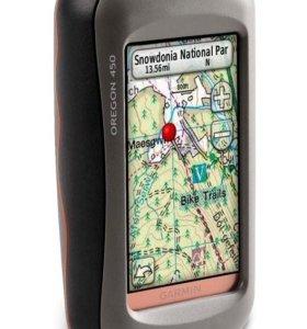 Навигатор Garmin Oregon 450