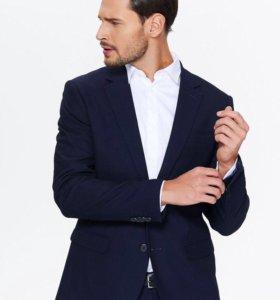 Пиджак чёрный новый